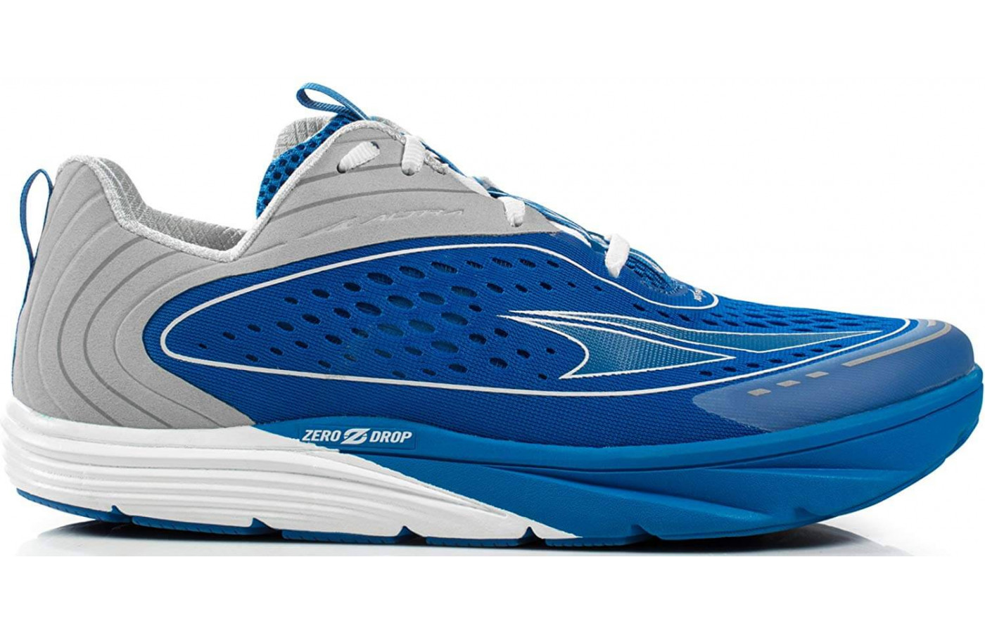 The Altra Torin 3.5 side angle perspective