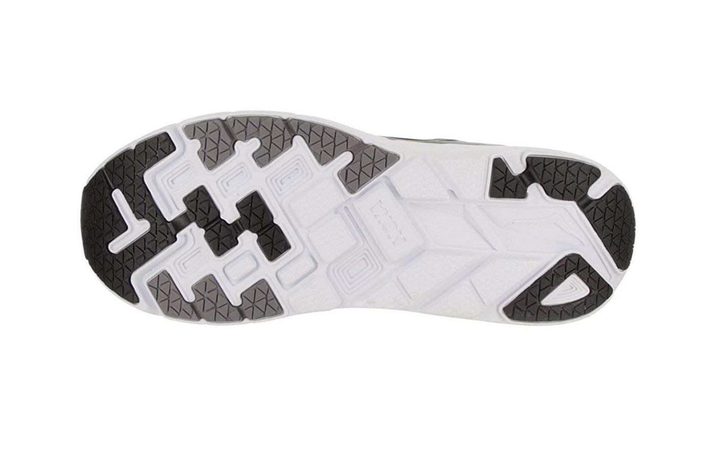 High-Abrasion Lightweight Rubber is placed over key parts of the Clifton 5's outsole