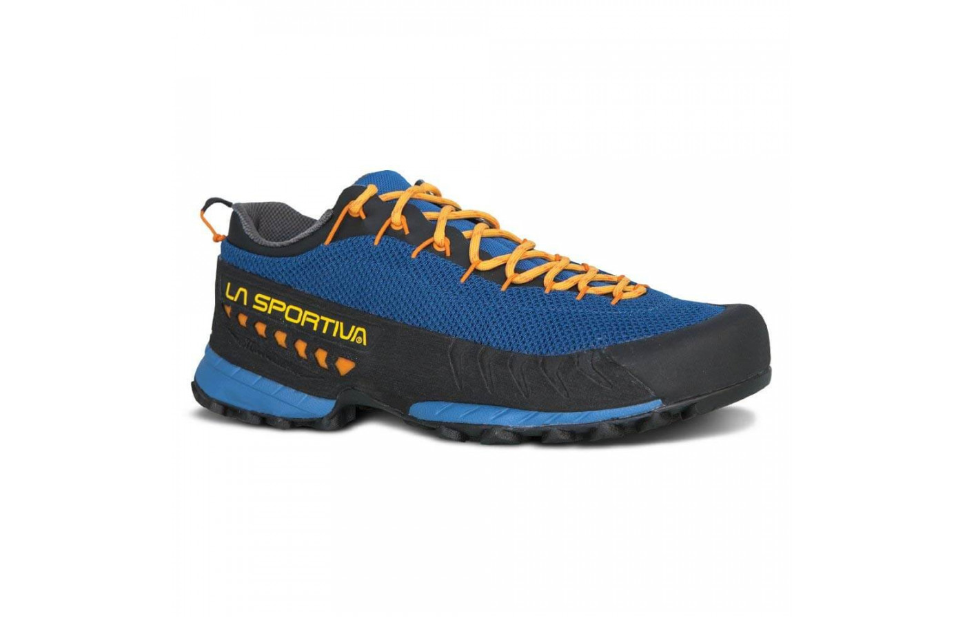 La Sportiva TX3 are extremely grippy for traversing trails.