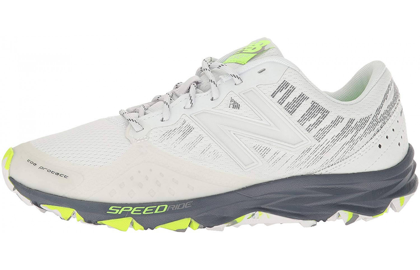 The 690v2 Trail features a synthetic mesh upper