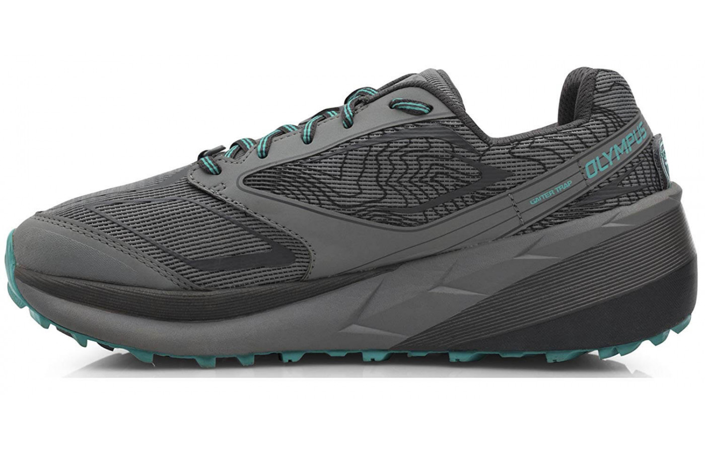 Altra Olympus 3 right to left teal women's
