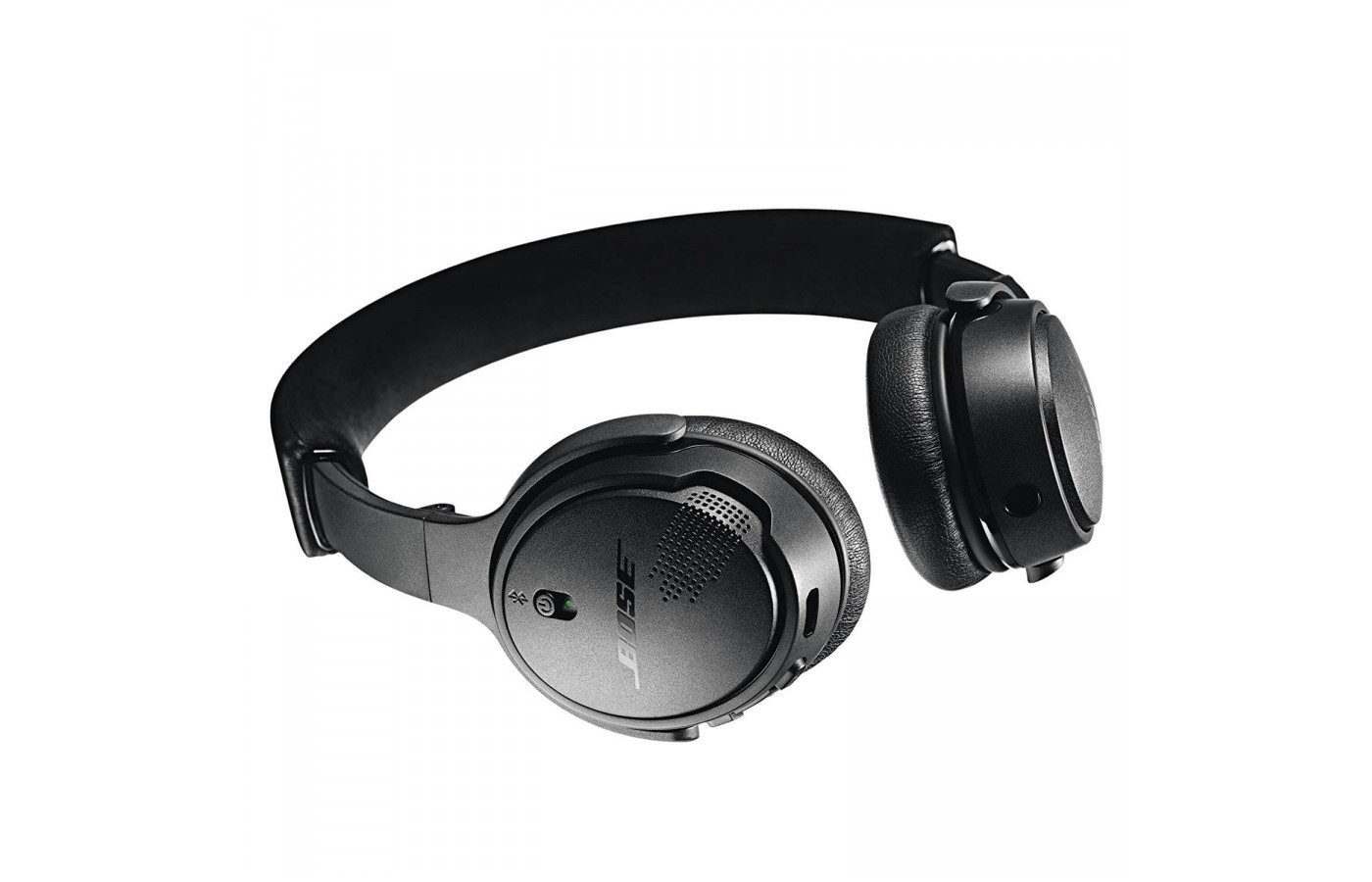 Bose SoundLink On-Ear Bluetooth Headphones with Microphone, Triple Black Side