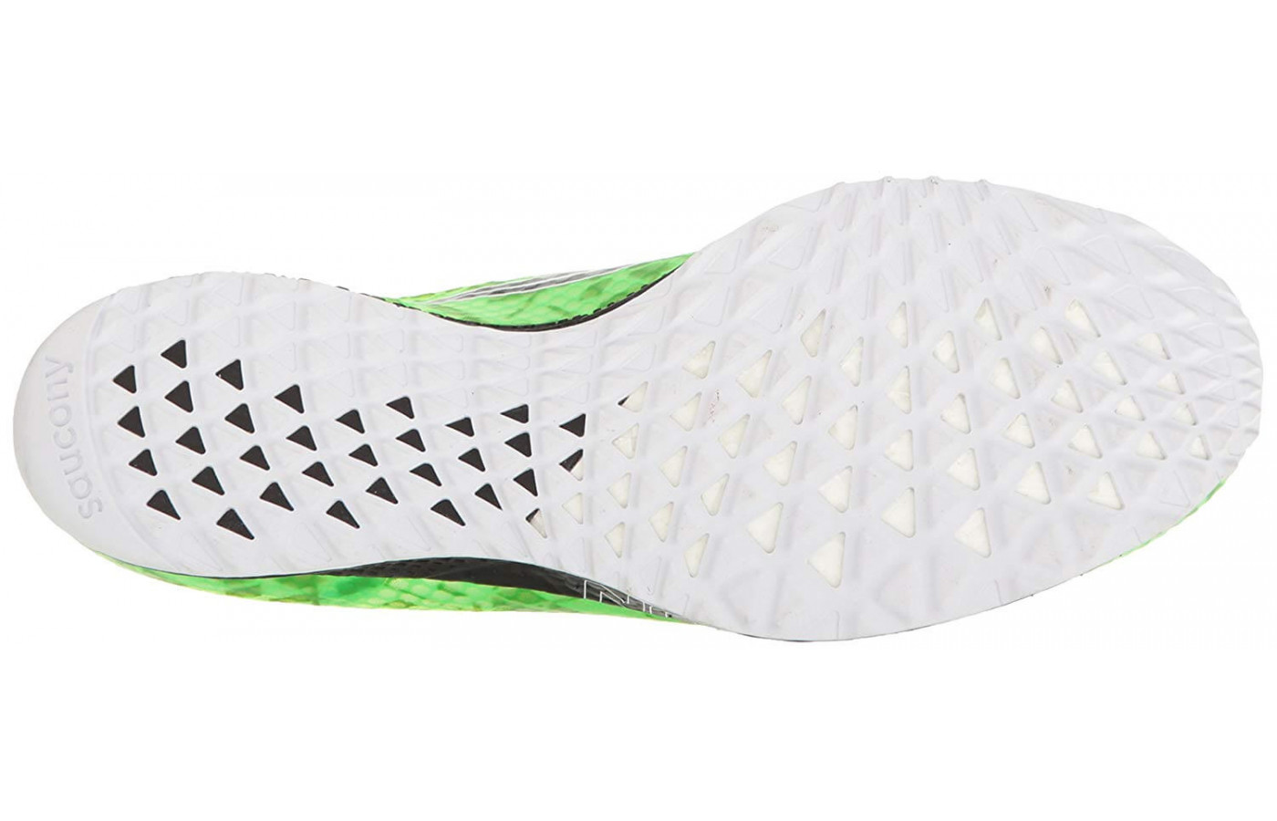 Saucony Endorphin Racer 2 bottom outsole view