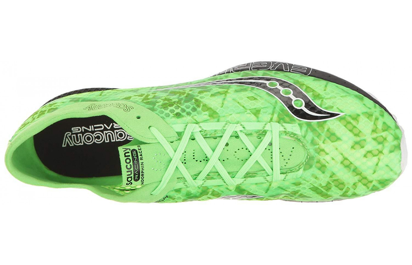 Saucony Endorphin Racer 2 top down view