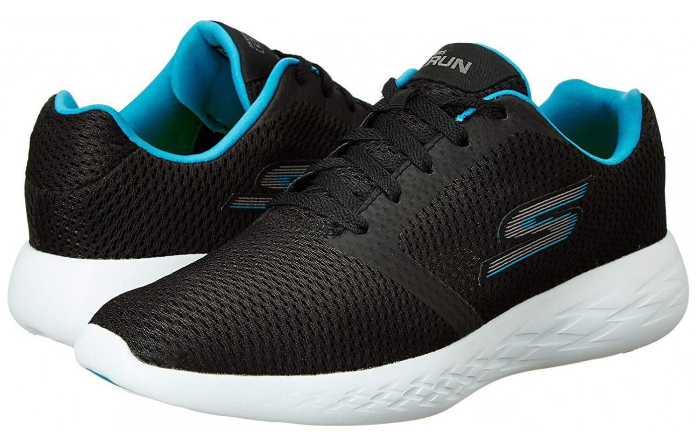 Sketchers GOrun 600 Refine double angled side view