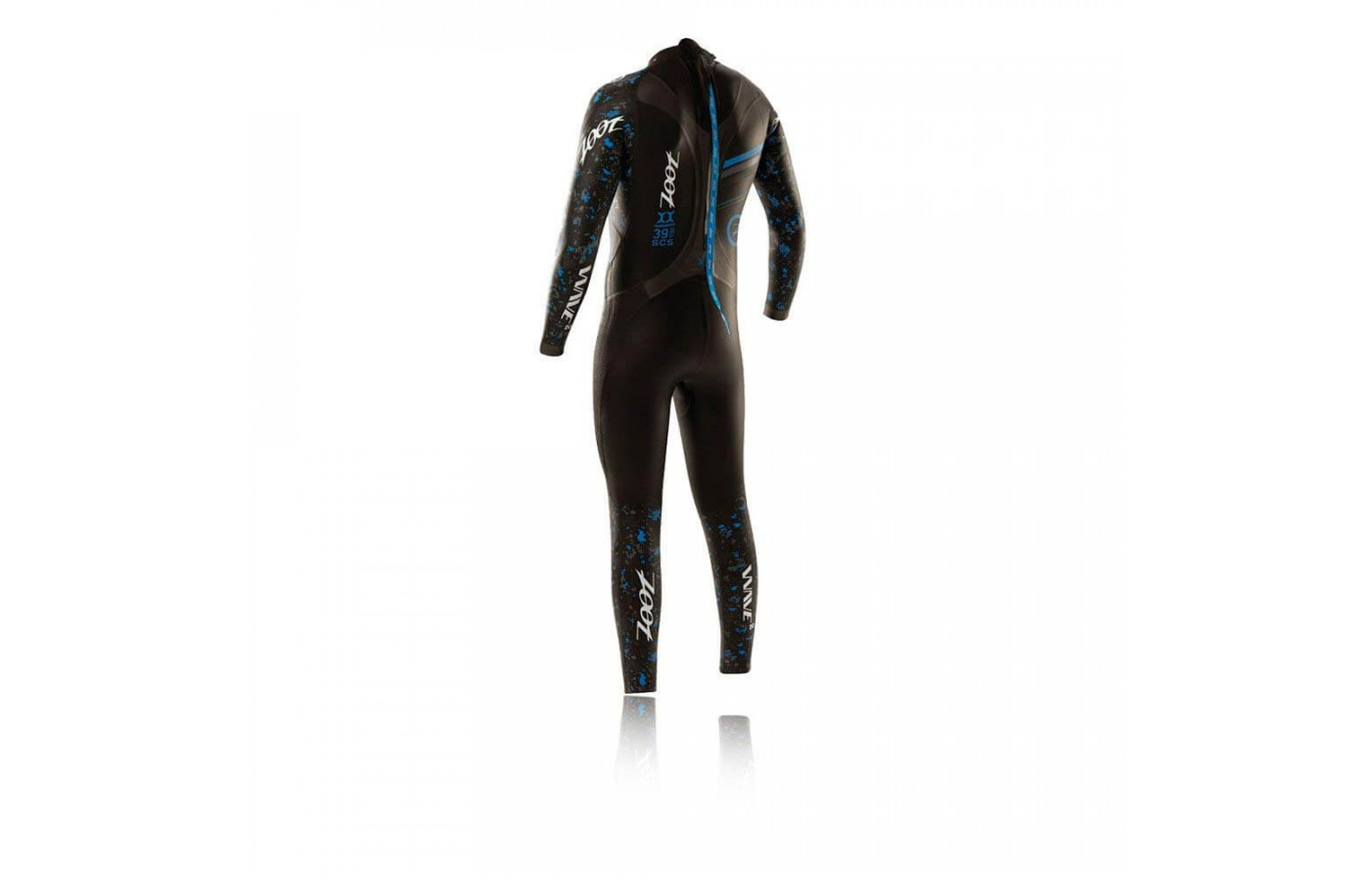 Zoot Wave 2 wet suit back