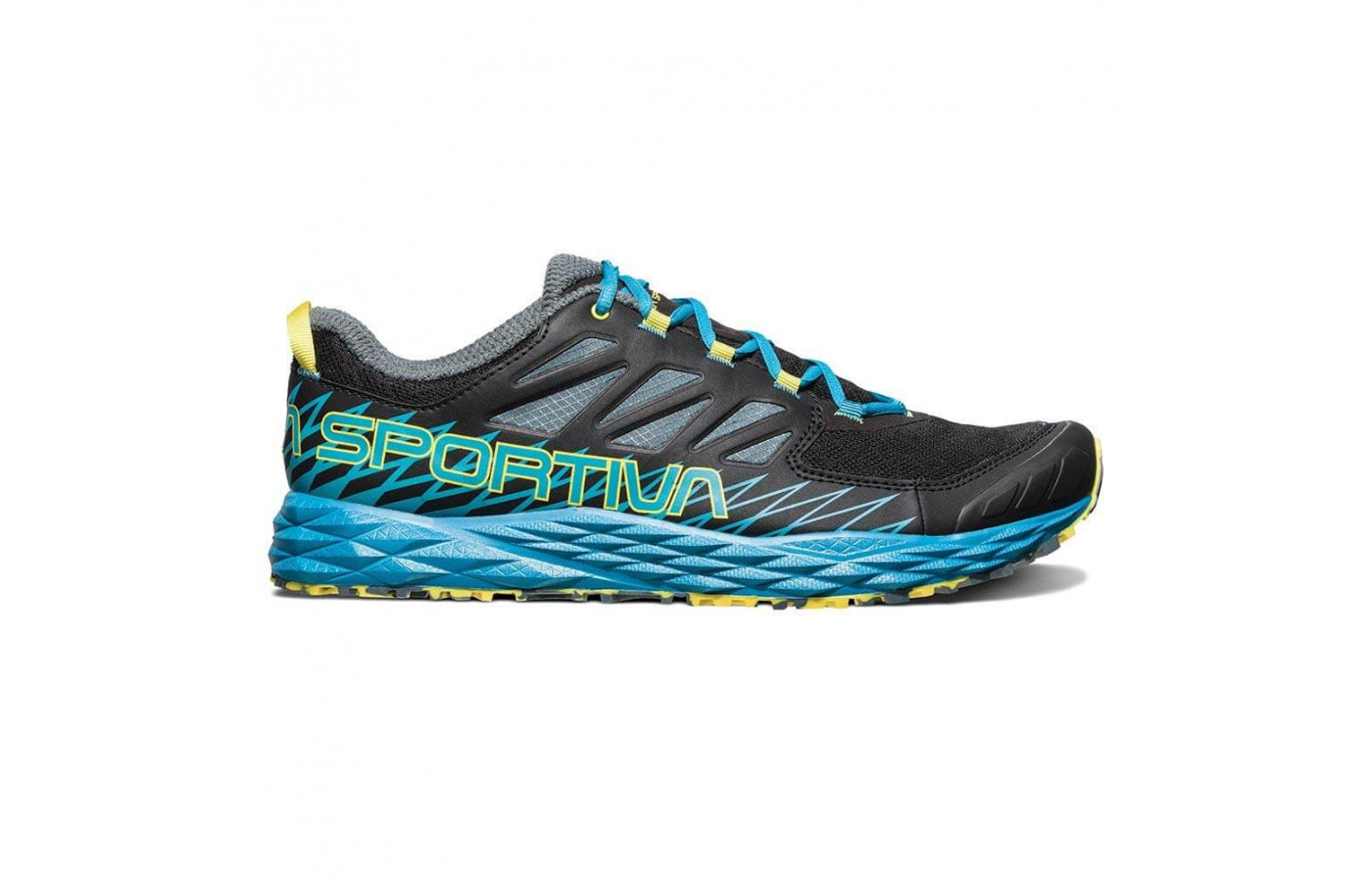 La Sportiva uses injection-molded EVA foam for the Lycan's midsole.