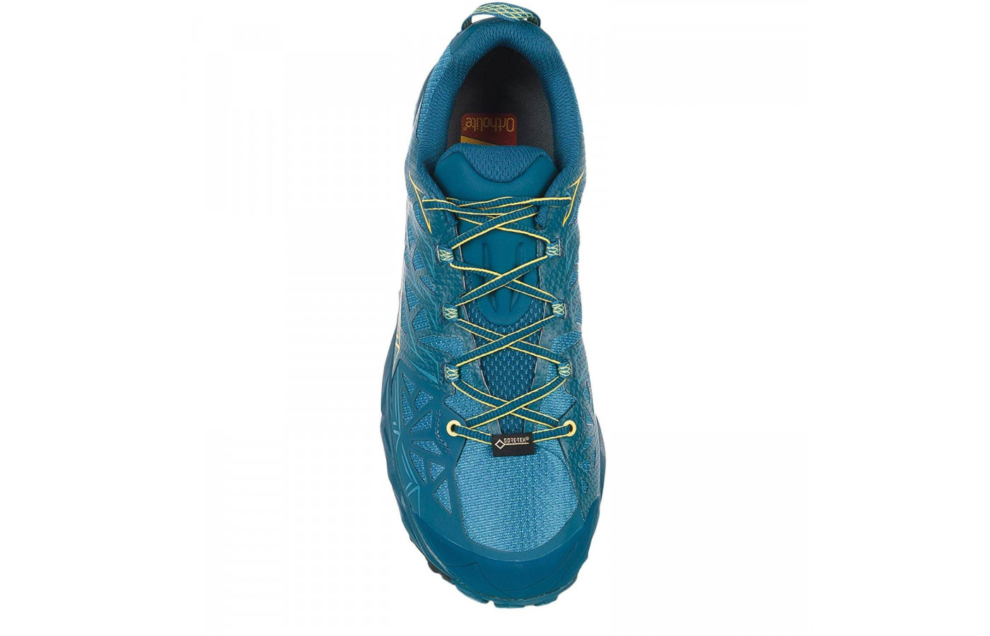La Sportiva Akyra GTX top view blue