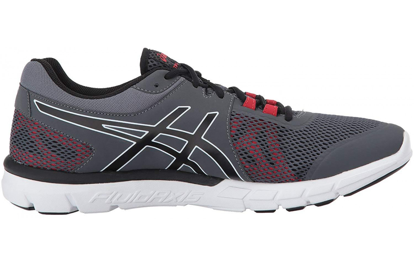 FluidRide and Gel technologies allow the Gel Craze TR 4's midsole to completely absorb each impact