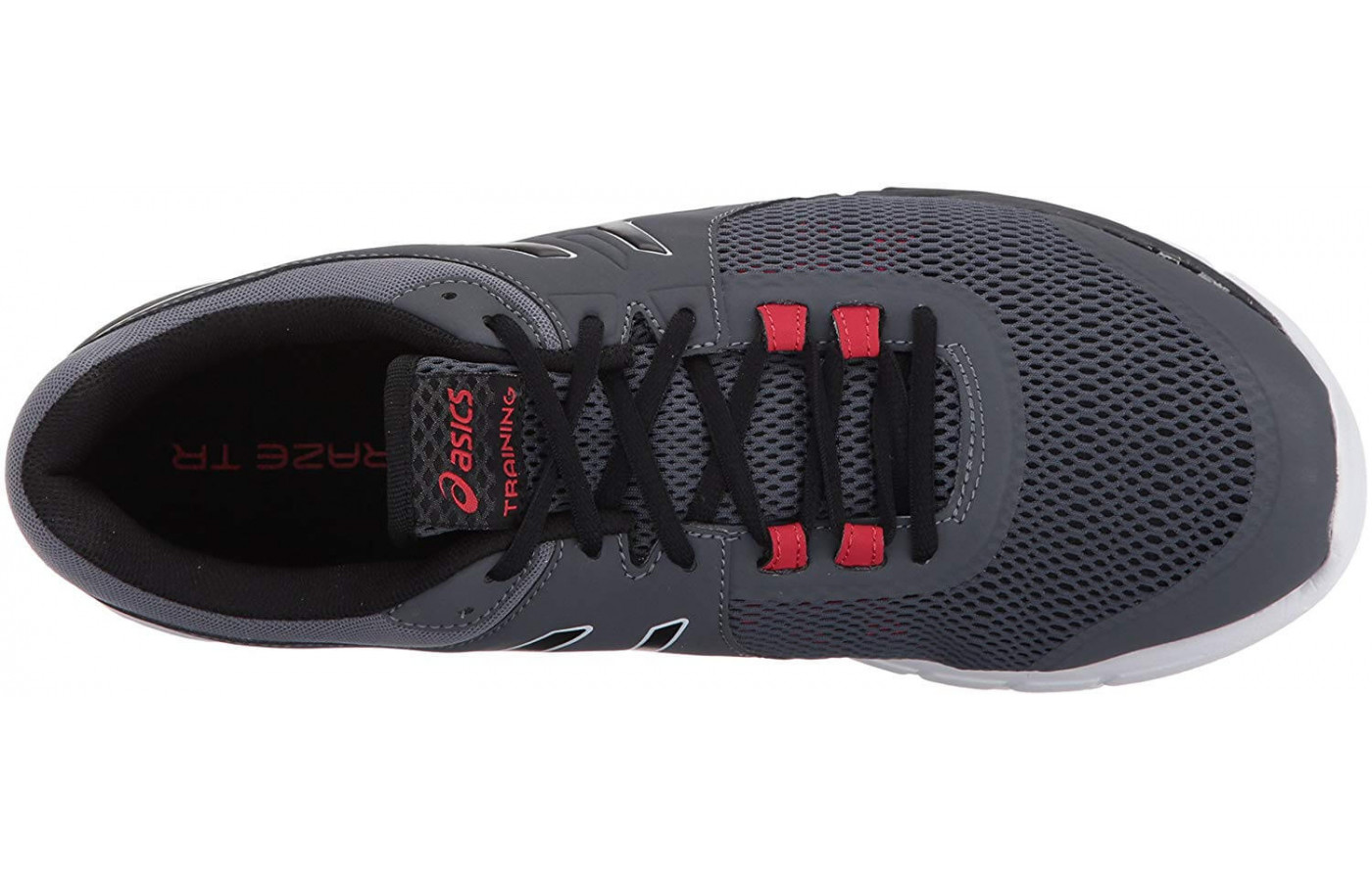 Open mesh and synthetic material give the Gel Craze TR 4 a secure yet breathable fit