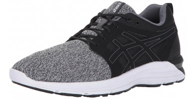 The Asics Gel Torrance features a combination of woven and synthetic materials in its upper.