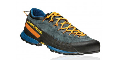If your looking for a shoe that will get you down the trail and then up the mountain the La Sportiva TX4 is the shoe your looking for.