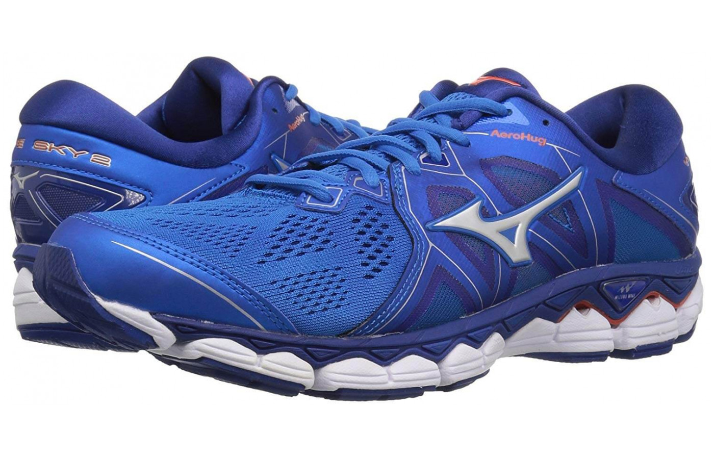 Mizuno Wave Sky 2 Front and Back