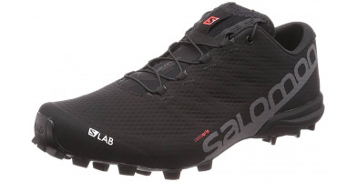 The Salomon S-Lab Speed 2 is a minimal yet highly durable trail running shoe