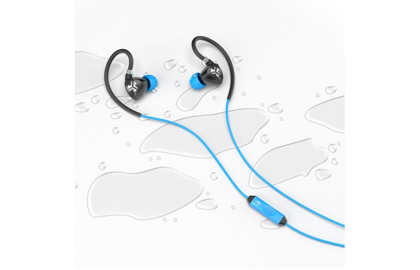 JLab Fit 2.0 sport earbuds wired