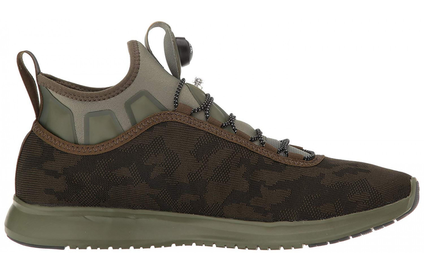 fa96eecc88ba The Pump Plus Camo is only available in four neutral colorways  The shoe s  Pump Plus technology gives a more supportive and stable wear ...