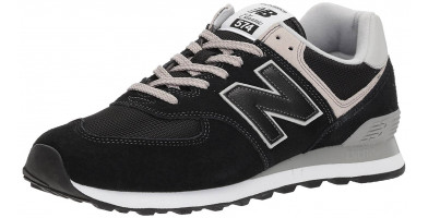 The New Balance 574 is a comfortable and causal rerelease of an old classic