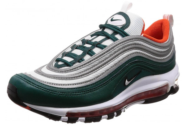 The Nike Air Max 97 is a stylish re-release of a classic design