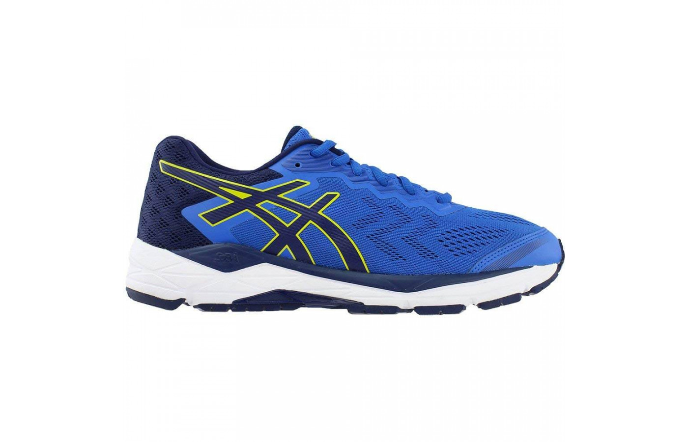 Rearfoot and forefoot Gel Technology adds to the Gel Fortitude 8's level of comfort.