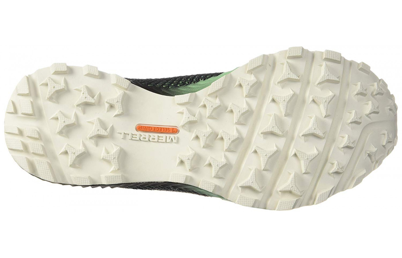 The All Out Crush 2's M-Select GRIP outsole features semi-aggressive gripping lugs.