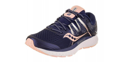 The Saucony Omni ISO is a comfortable and surprisingly lightweight stability shoe.