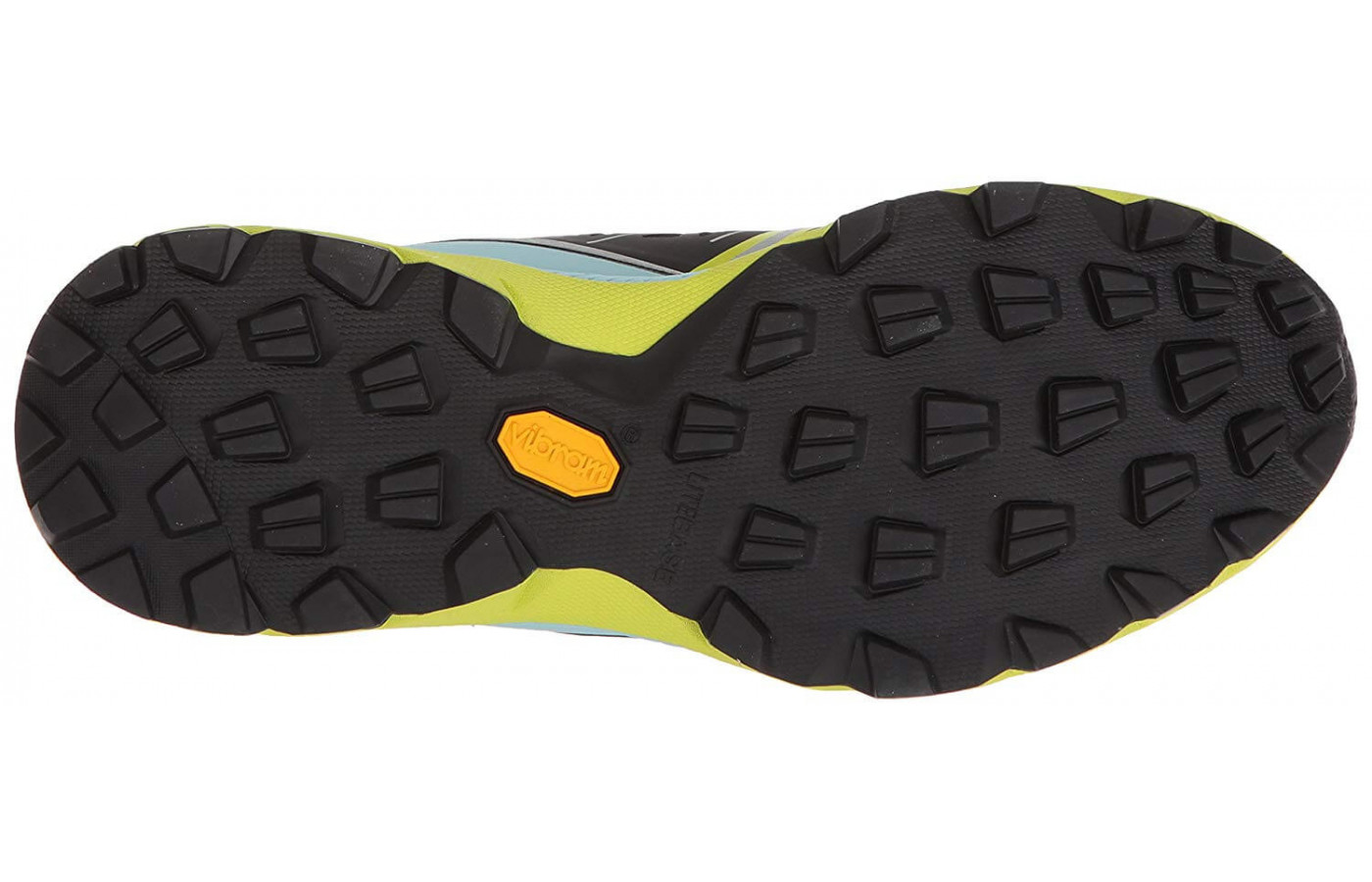 A Vibram outsole gives the Spin RS its incredible traction