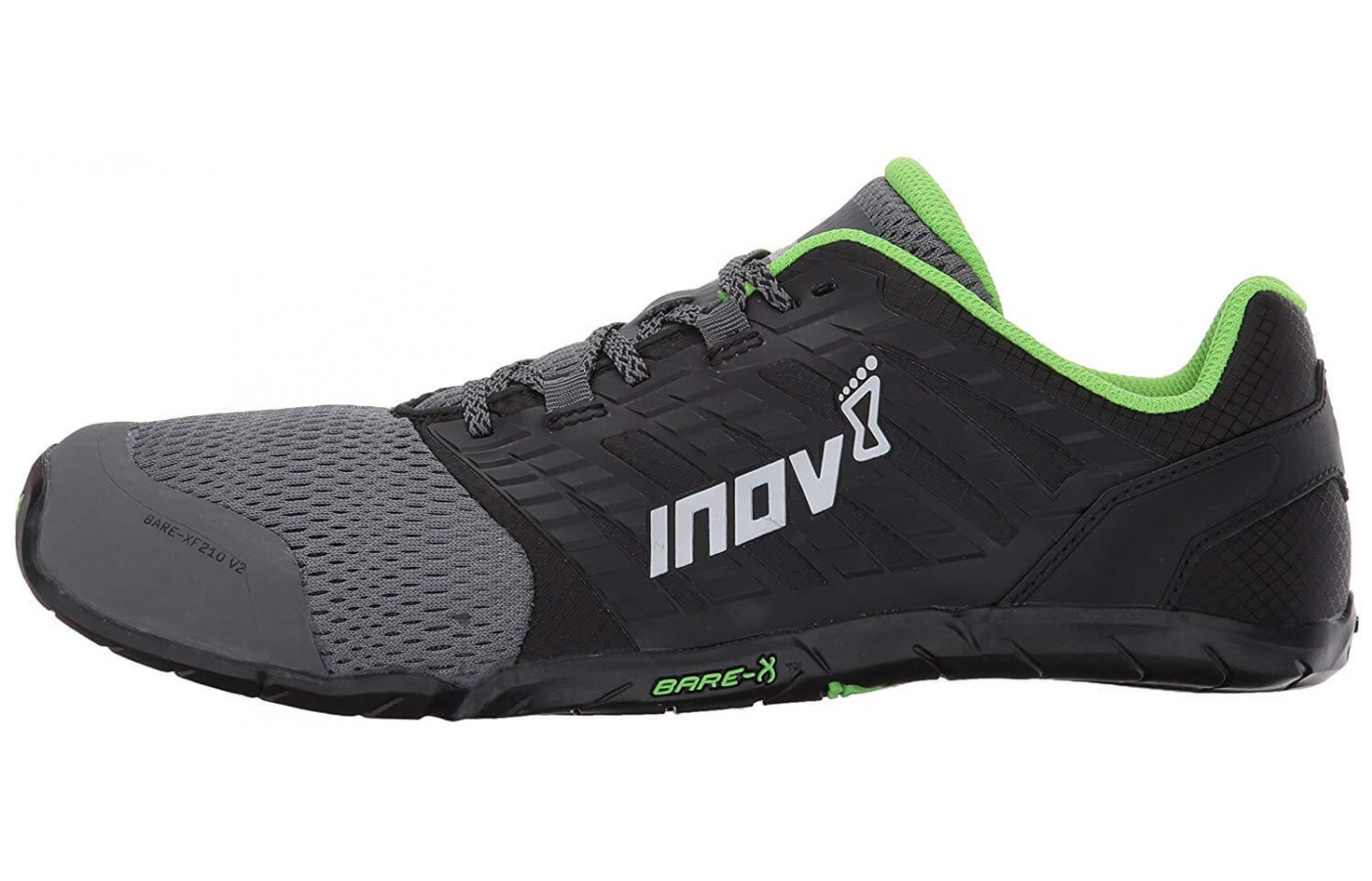 Instead of a midsole, the Bare-XF 210 v2 has a 3mm Power Footbed insole