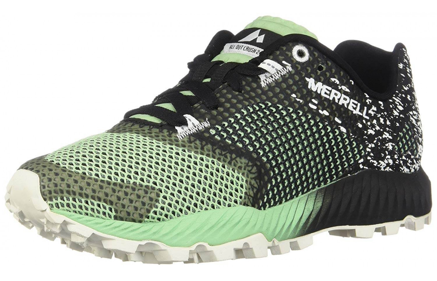The All Out Crush 2 is available in green and grey for both men and women