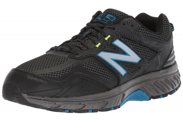 The 510v4 features a redesigned mesh upper with leather overlays.