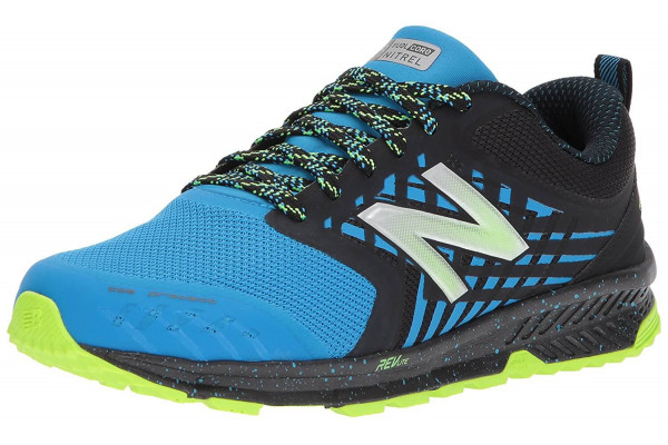 The New Balance FuelCore Nitrel features a new sew engineered mesh upper and toe protect.