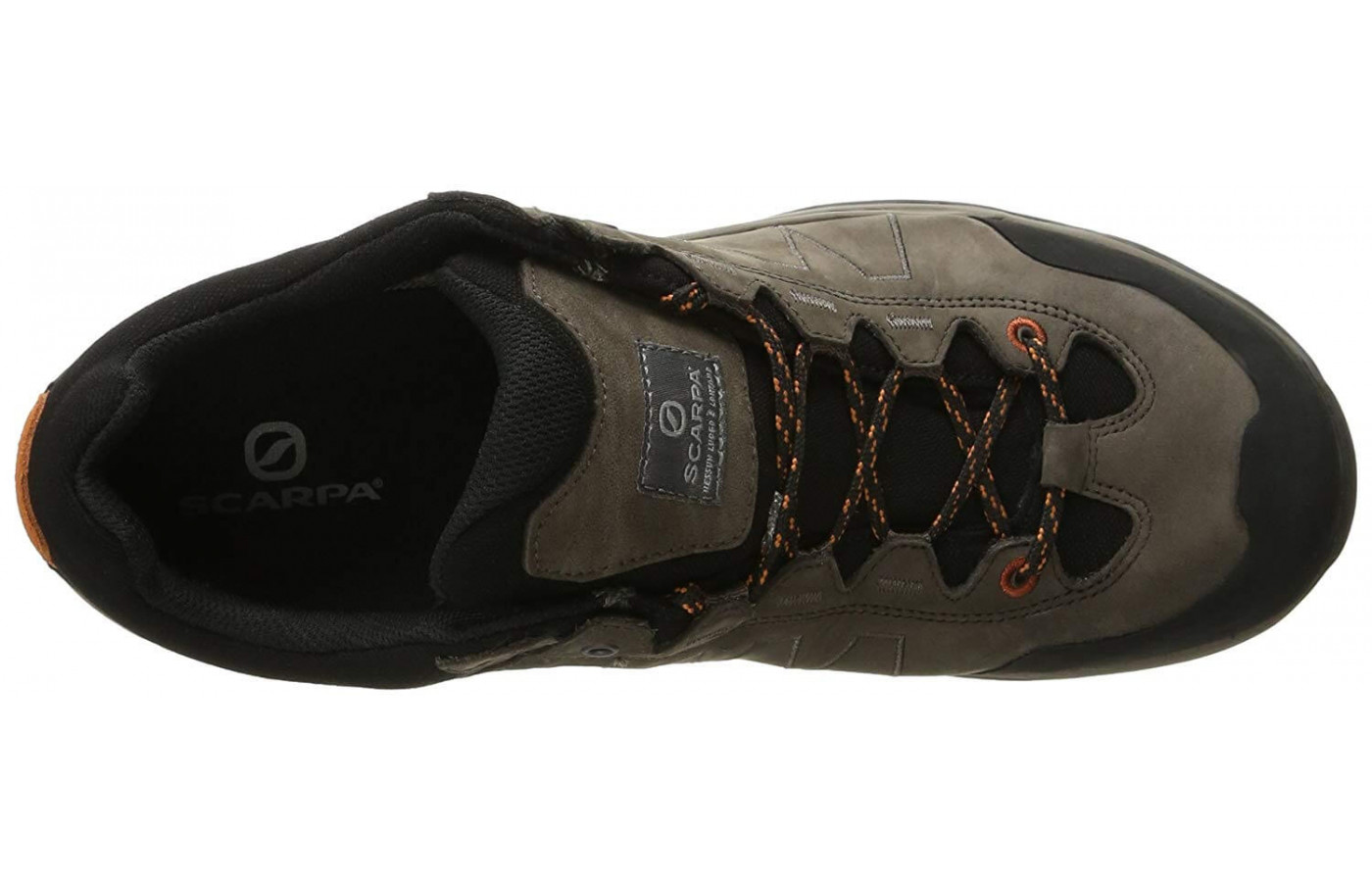 Full-grain nubuck leather makes up the Moraine Plus GTX's upper