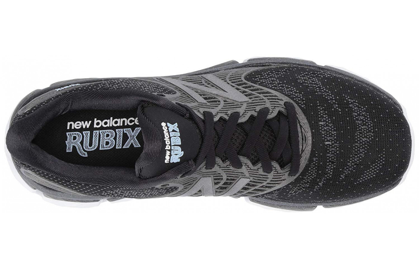 The Rubix features a Double Jacquard mesh upper with TPU overlays