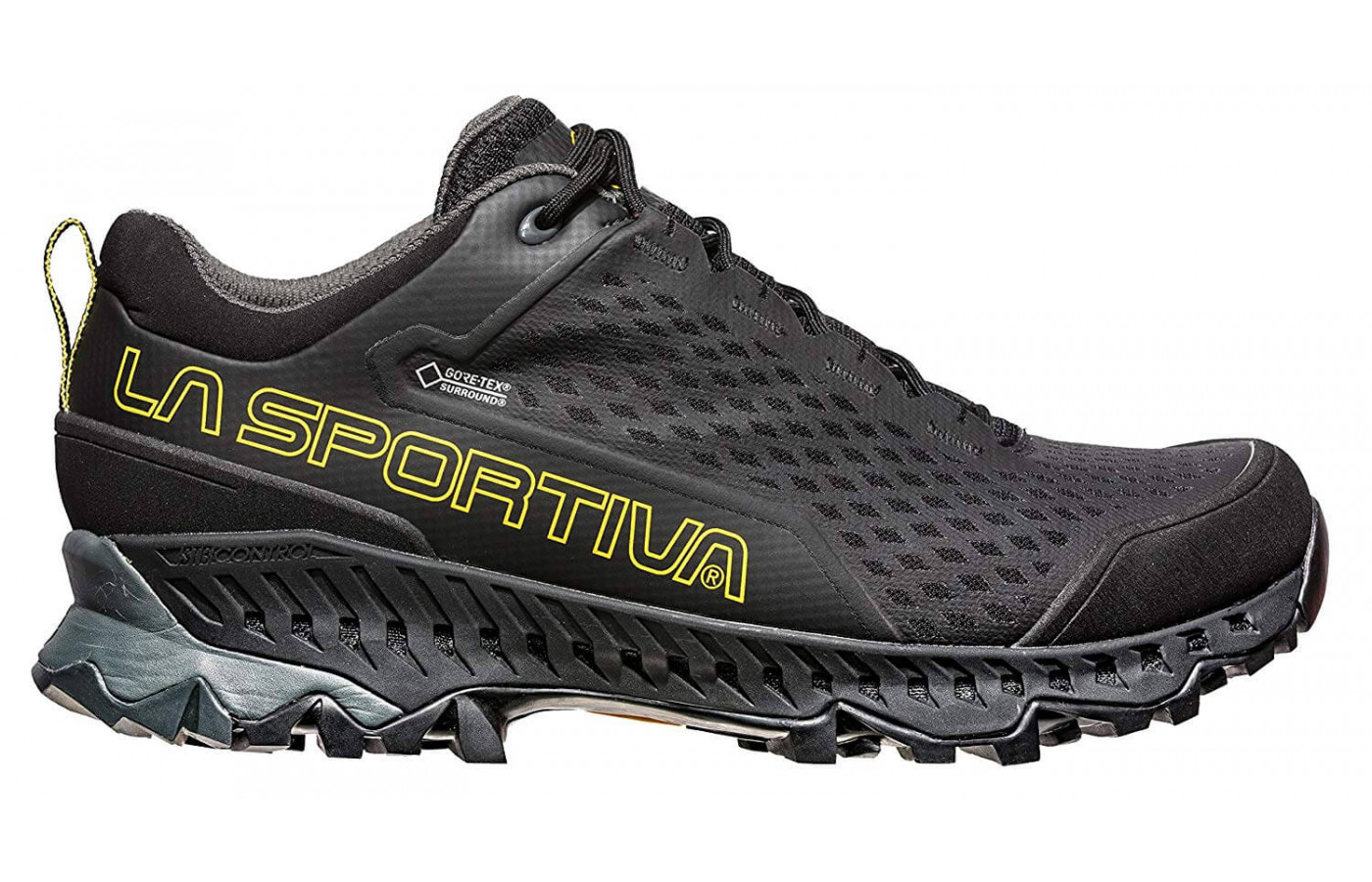 The Spire GTX's midsole is made with compression-molded EVA