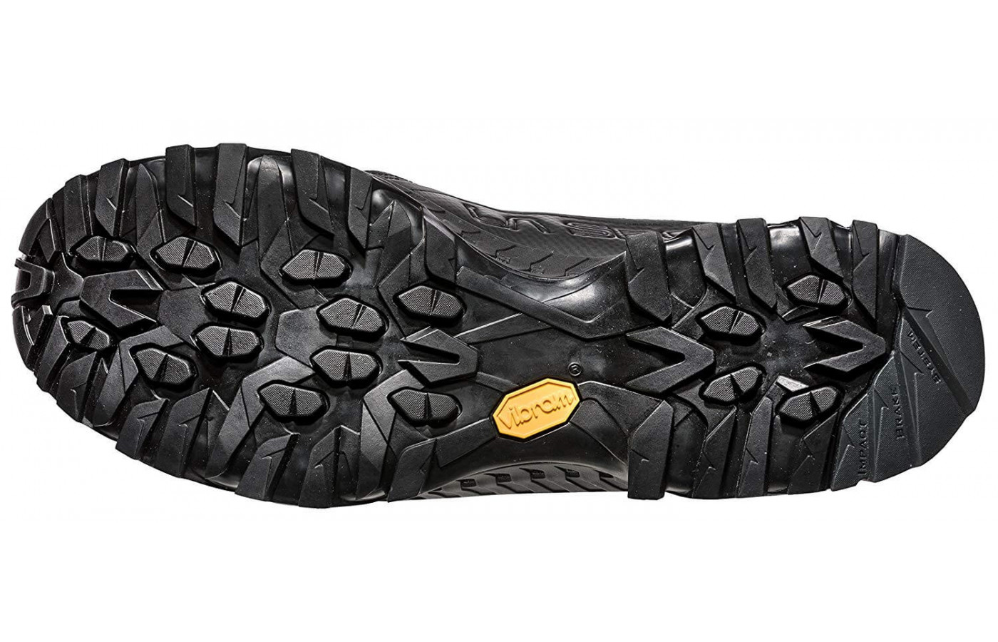 A Vibram XS Trek outsole provides the Spire GTX with incredible traction