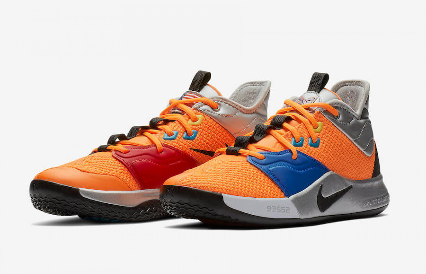 Nike PG 3 NASA left right