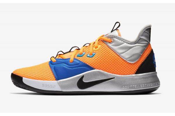 An in depth review of the Nike PG 3 NASA basketball shoe.