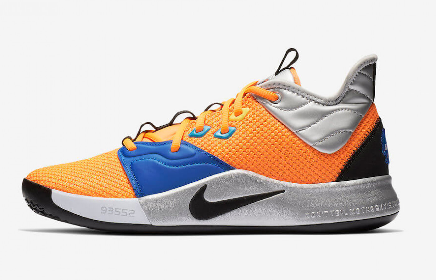 Nike PG 3 NASA side