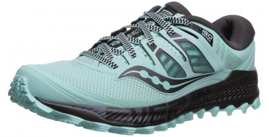 An in depth review of the Saucony Peregrine ISO trail shoe with amazing traction.