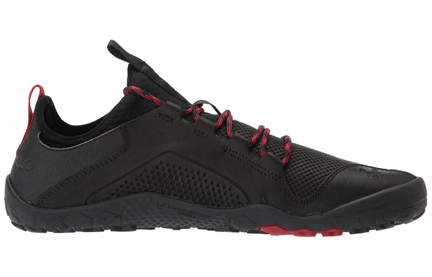 A leather upper gives the Primus Trek a water-resistant wear