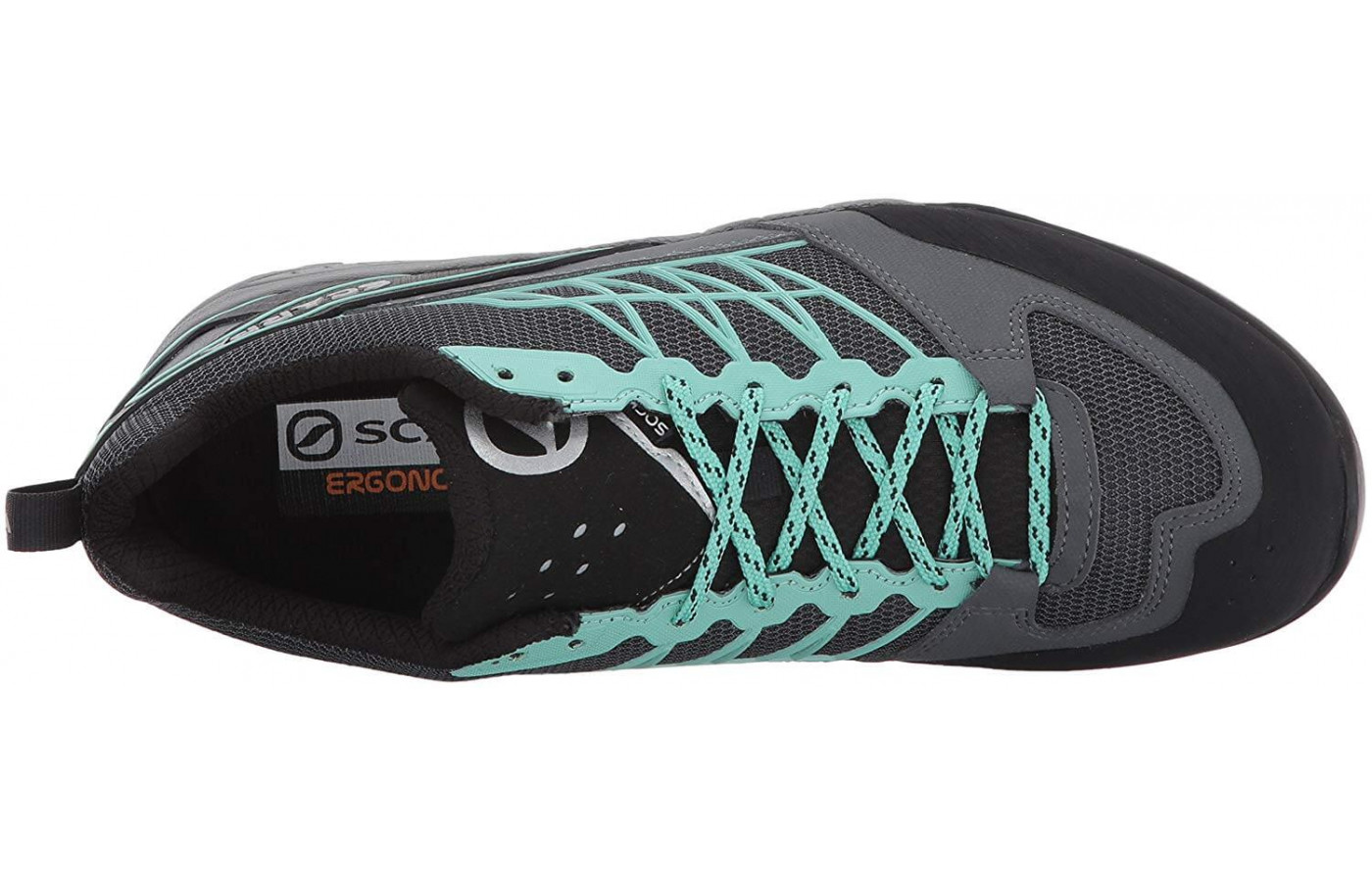 Mesh, TPU, and synthetic leather make up the Epic Lite's upper