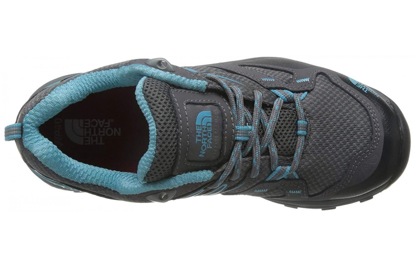 Mesh panels and PU-coated leather forms the Hedgehog Fastpack GTX's upper