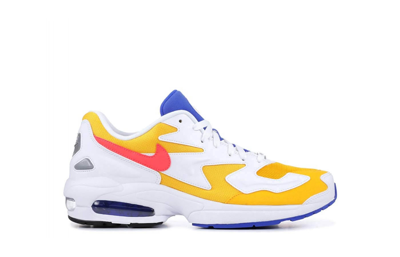 The Air Max2 has a responsive wear, thanks to its Max Air heel unit.