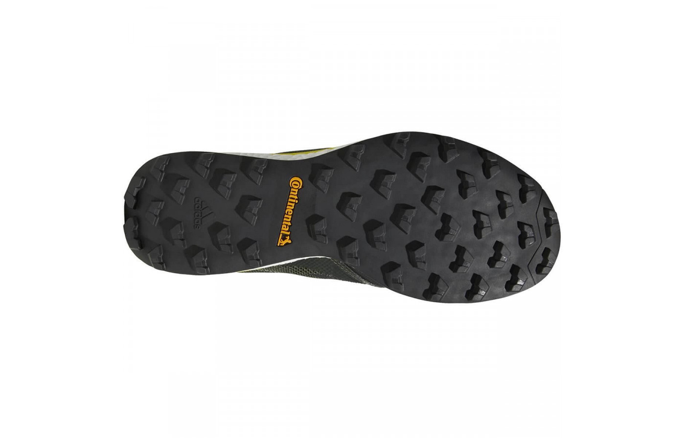 Durable Continental rubber forms the Terrex Agravic XT's outsole