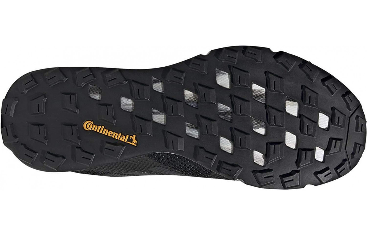 The Terrex Two features a Continental rubber outsole for an extra strong grip.