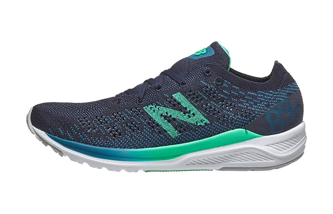 A REVlite midsole gives the 890v7 a very responsive wear.