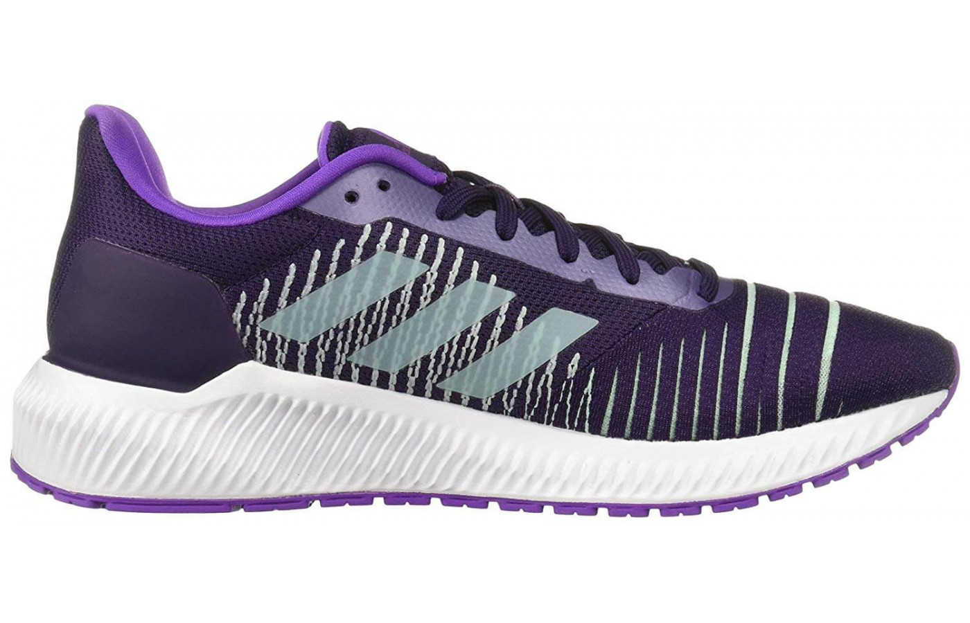 The Bounce midsole gives the Solar Ride a highly responsive wear