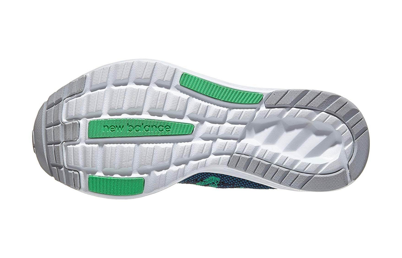 Ground-contact REVlite forms the 890v7's outsole.