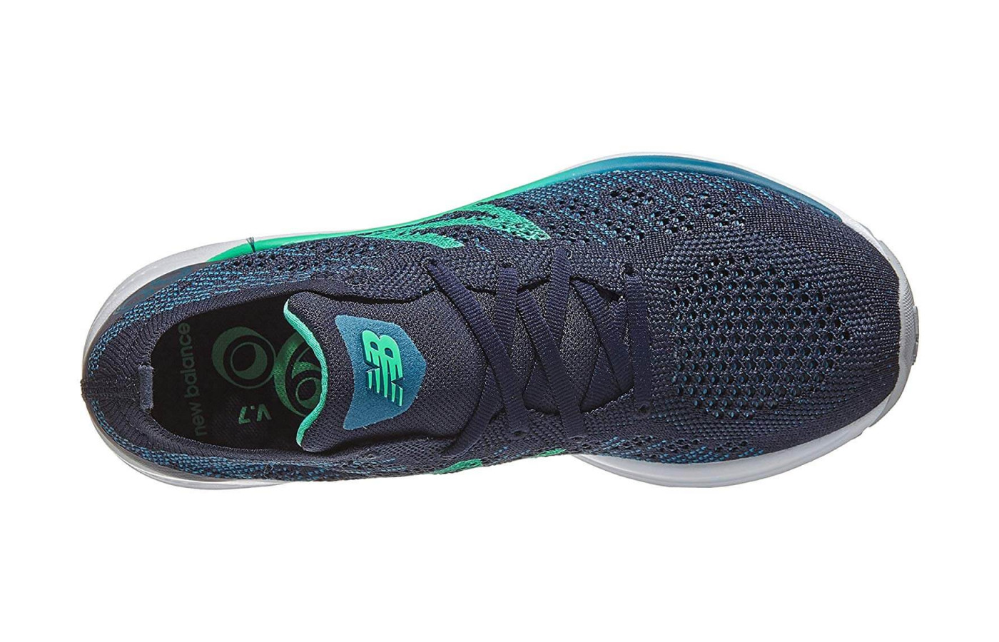 The 890v7's upper is made from an engineered knit.
