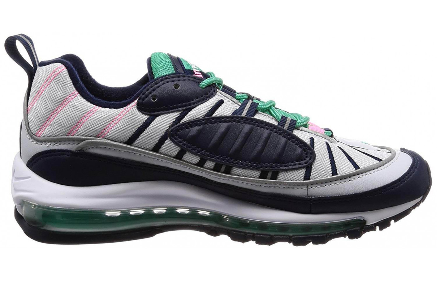 separation shoes 10f55 6f8cd ... Nike Air Max 98 side ...