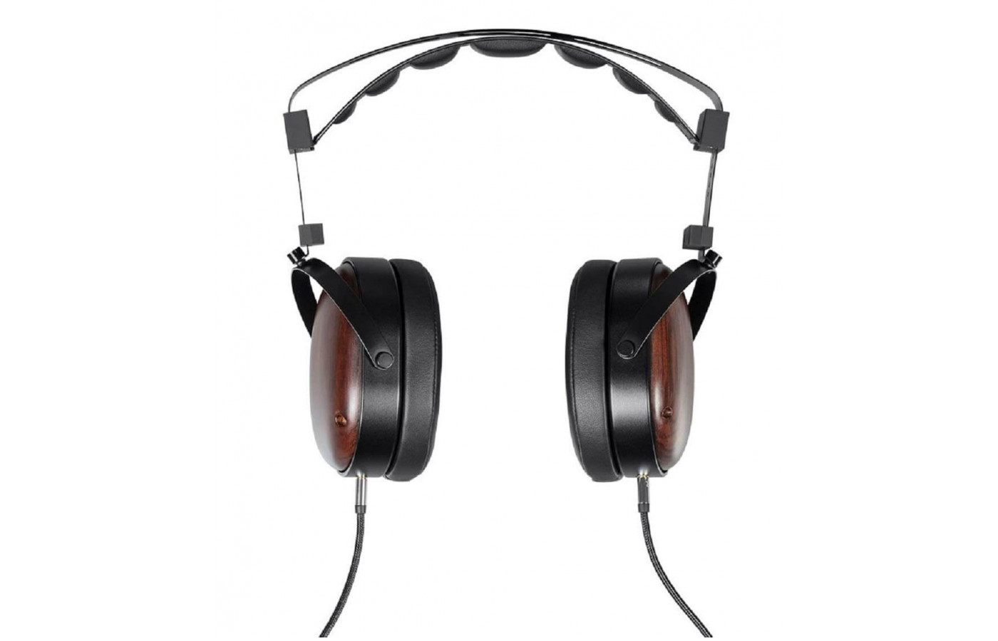 Faux leather padding gives the Monolith M565C a comfortable fit